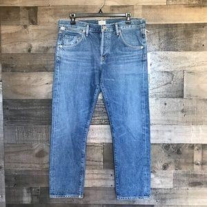 NWT COH Emerson Slim Boyfriend Jeans Cropped